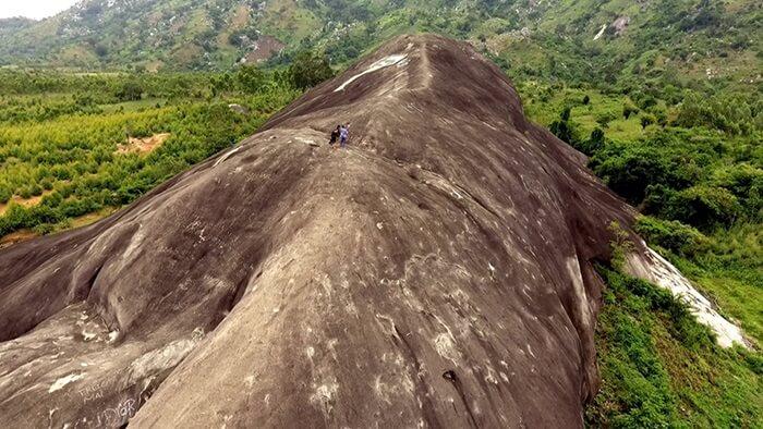 núi đá voi me yang tao