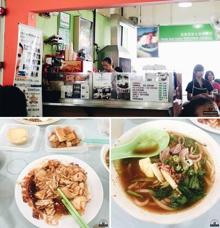 Mỳ Laksa – Asam Laksa noodles