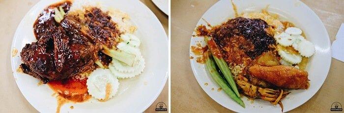 Cơm cà ti ấn độ ở malaysia