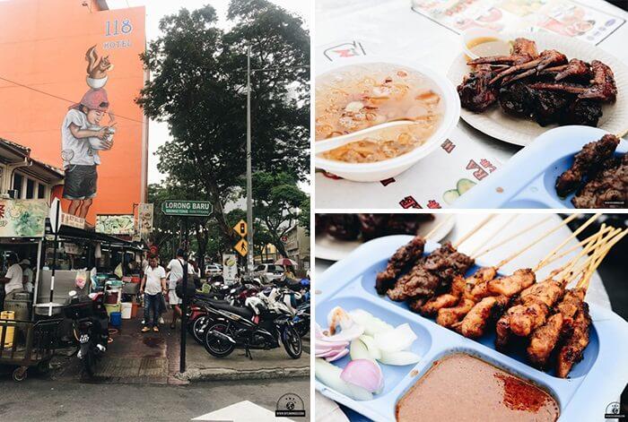 Phố ẩm thực ở Penang