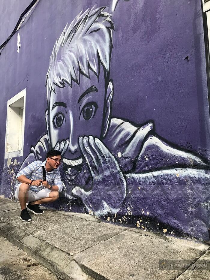 street art in penang