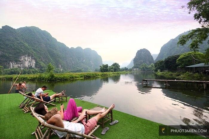 thu giãn tại quốc khánh bamboo homestay
