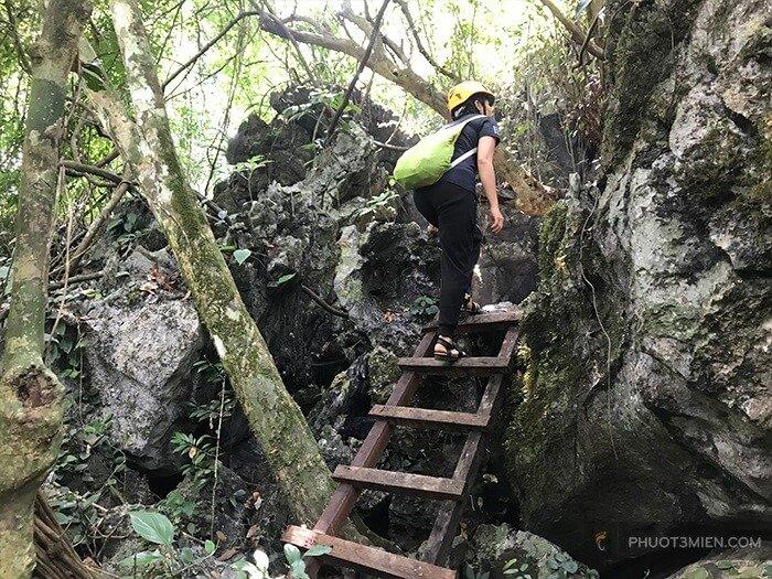 trekking hang giếng voọc