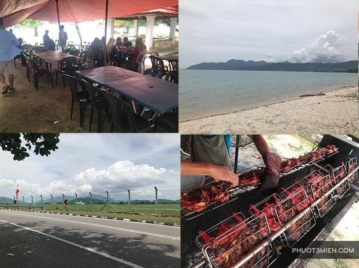 ăn trưa ở langkawi