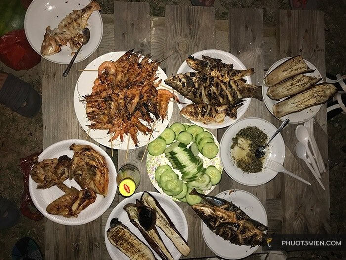 ăn tối BBQ ở langkawi