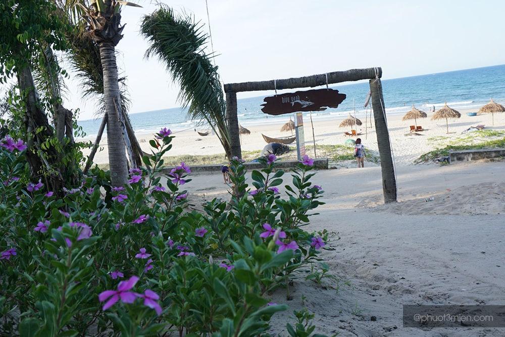 bãi biển tại homestay