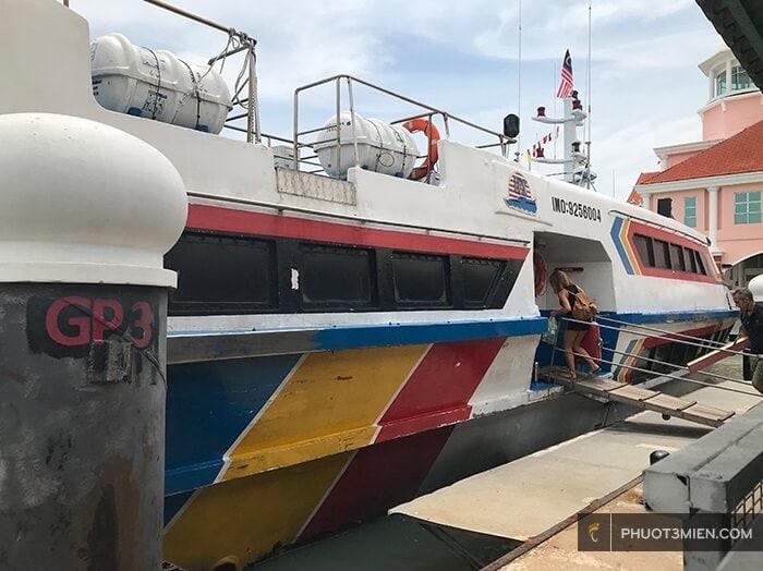 tàu đi langkawi