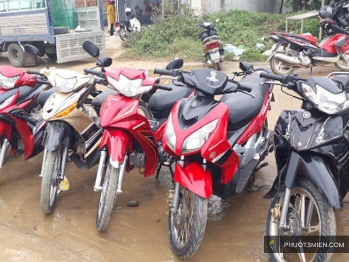 chỗ cho thuê xe máy ở Mộc Châu
