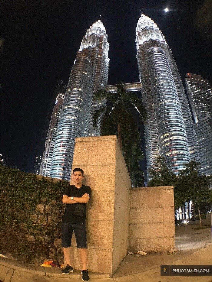tòa tháp đôi petronas