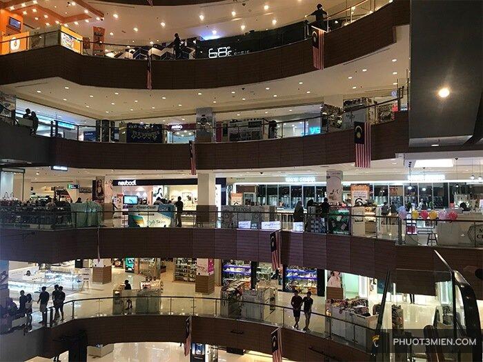 trung tâm thương mại ở penang