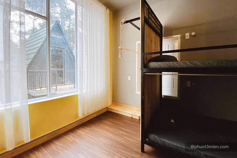 phòng ngủ của homestay