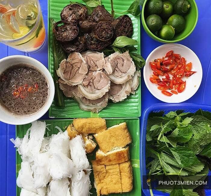 Bún đậu ngõ Phất Lộc