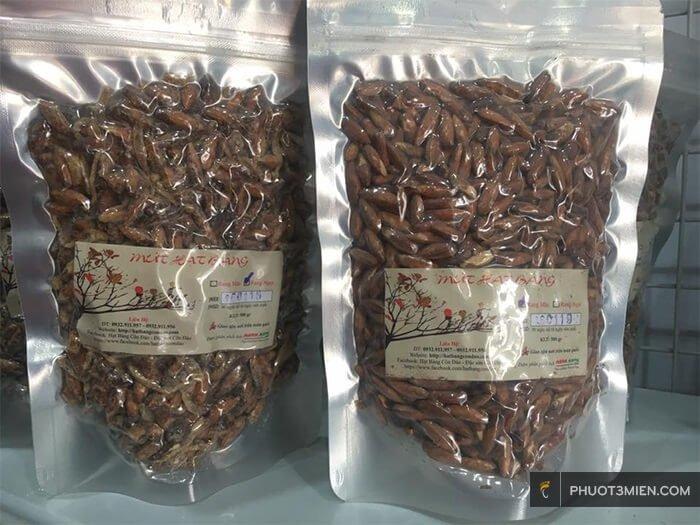 mứt hạt bàng ở Côn Đảo
