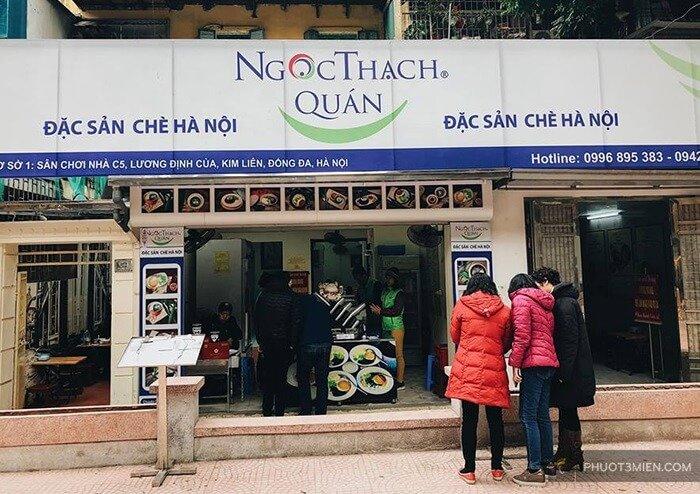 Quán chè ngon ở Hà Nội