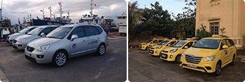 taxi trên Côn Đảo