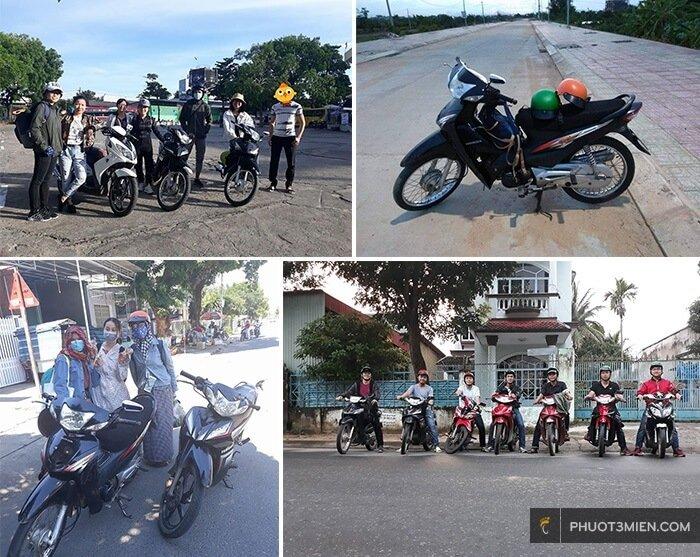 chỗ cho thuê xe máy ở Măng Đen Kon Tum