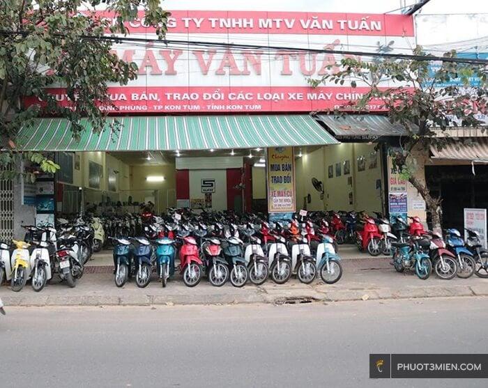 Cho thuê xe máy ở Kon Tum - phuot3mien.com