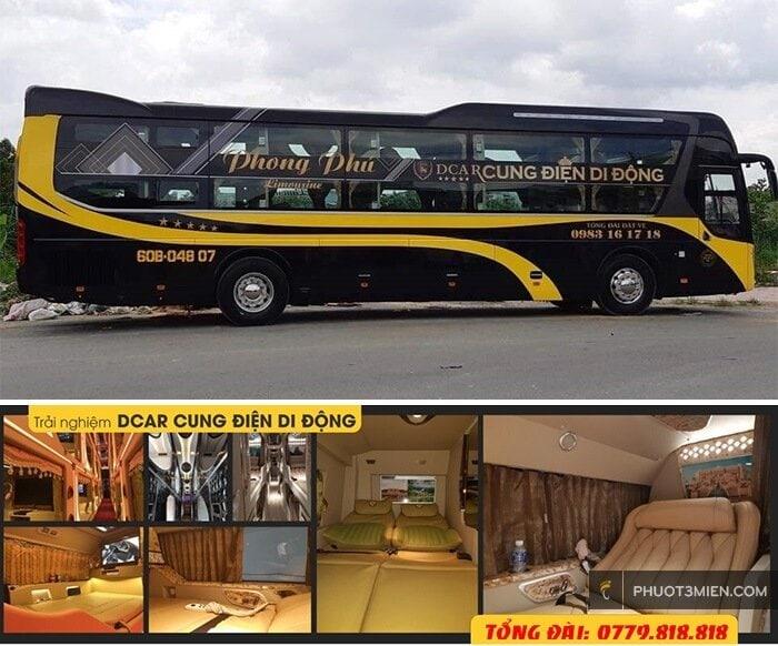 limousine Phong Phú sài gòn kontum