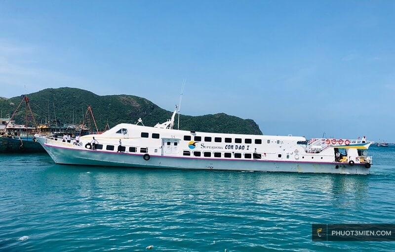 tàu supperdong đi côn đảo