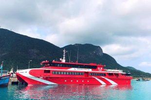 tàu cao tốc côn đảo express đi côn đảo