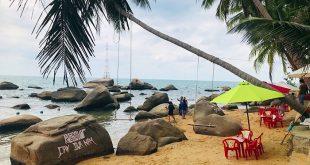 Bãi Dừa Nằm Hòn Sơn - Bãi Xếp