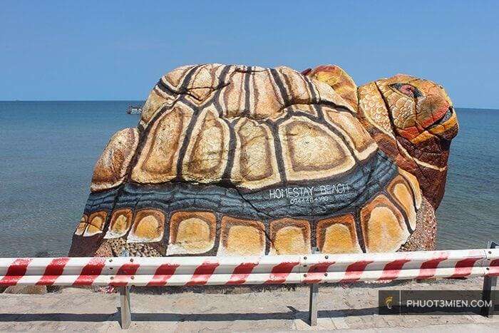 rùa đá hòn sơn