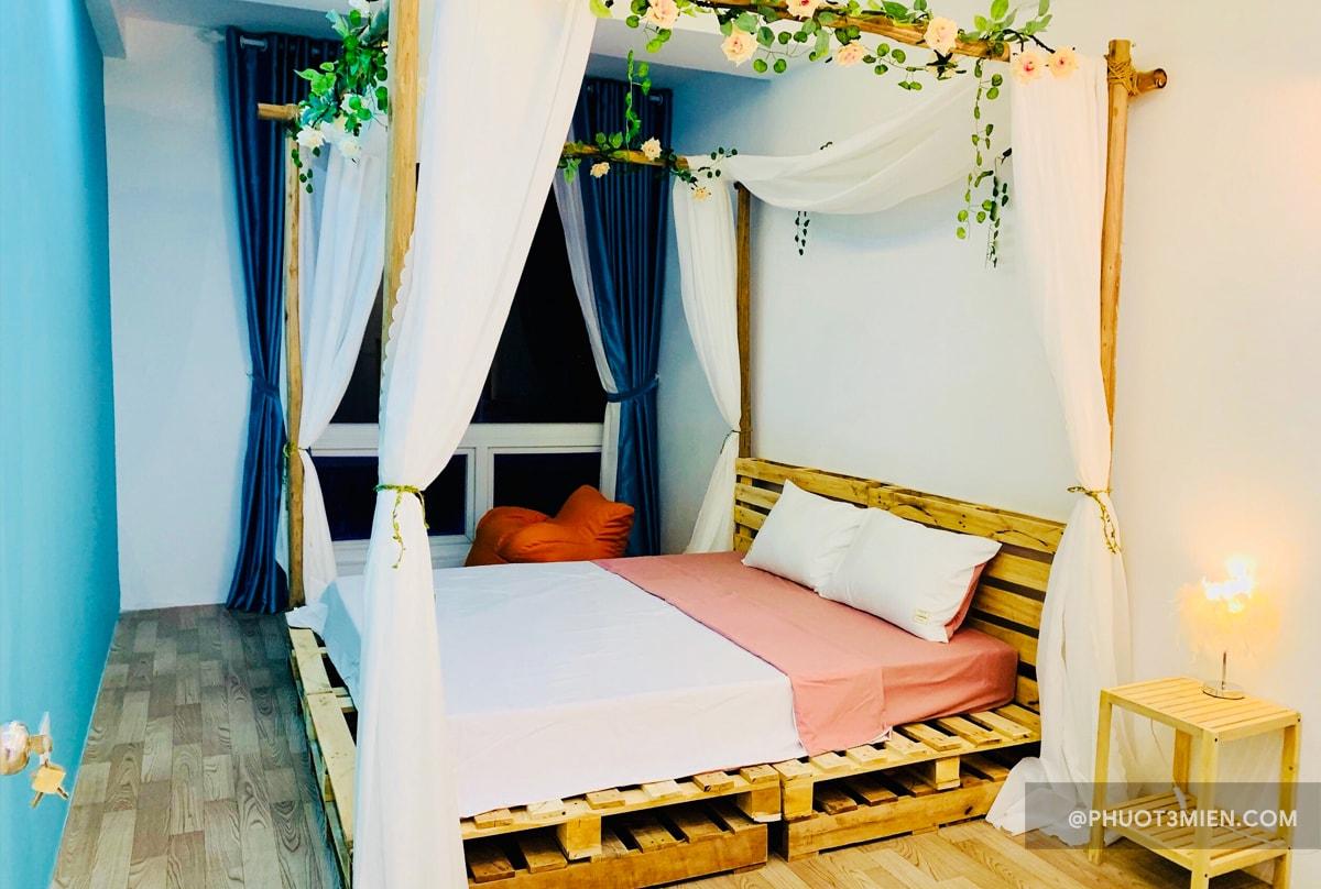 phòng ngủ mị homestay