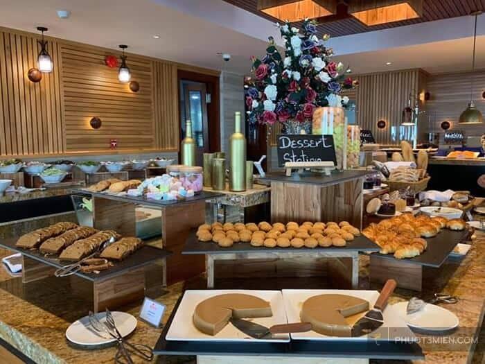 Nhà hàng tại MARINA BAY Resort & Spa 5 sao Vũng Tàu