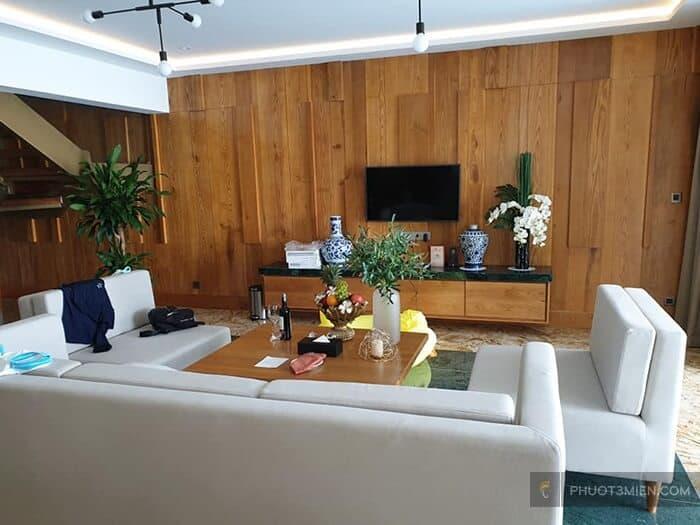 Phòng khách tại MARINA BAY Resort