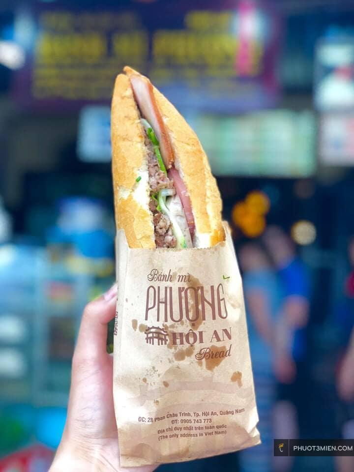 Quán bánh mì Phượng Hội An