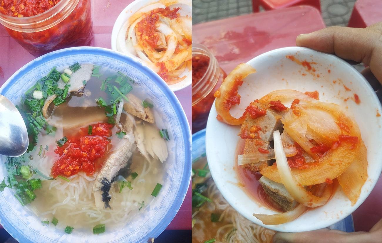 bánh canh cá dầm hương BMT