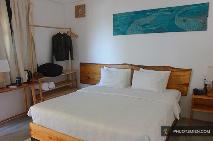 phòng nghỉ tại Stop and go làng chài resort