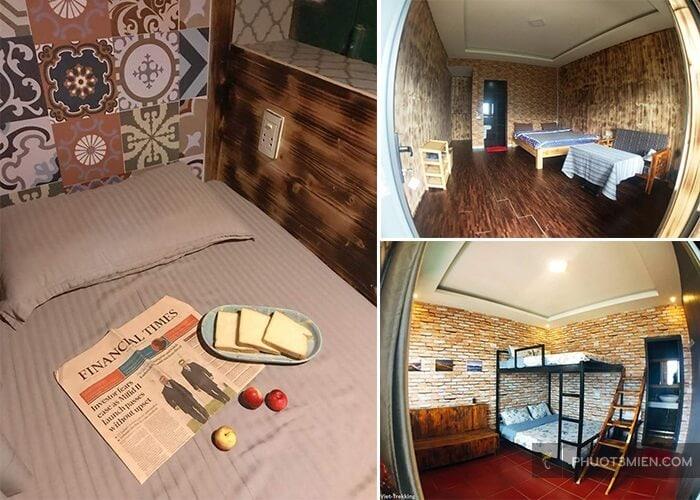 phòng dorm tại viettrekking