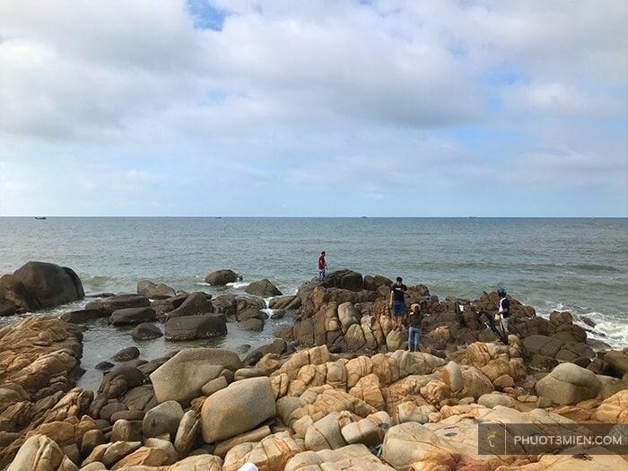 bãi đá đèo nước ngọt