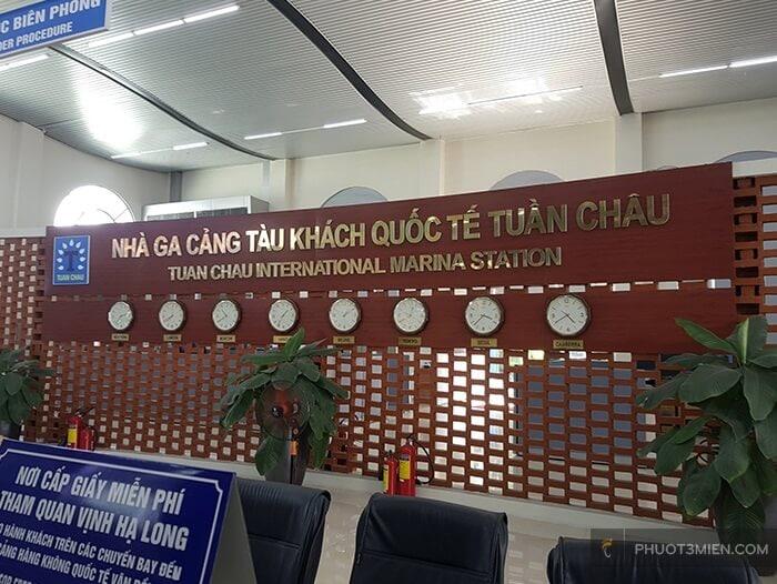 nhà ga quốc tế Đảo Tuần Châu