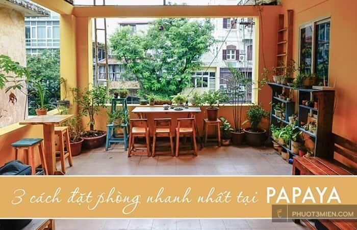 Hanoi Papaya, Homestay đẹp ở Hà Nội