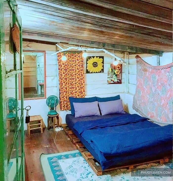 phòng ngủ tại HomeFarm Homestay