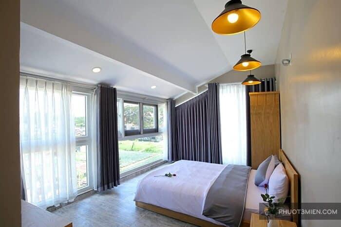 phòng nghỉ The Magnolia Villa Đà Lạt