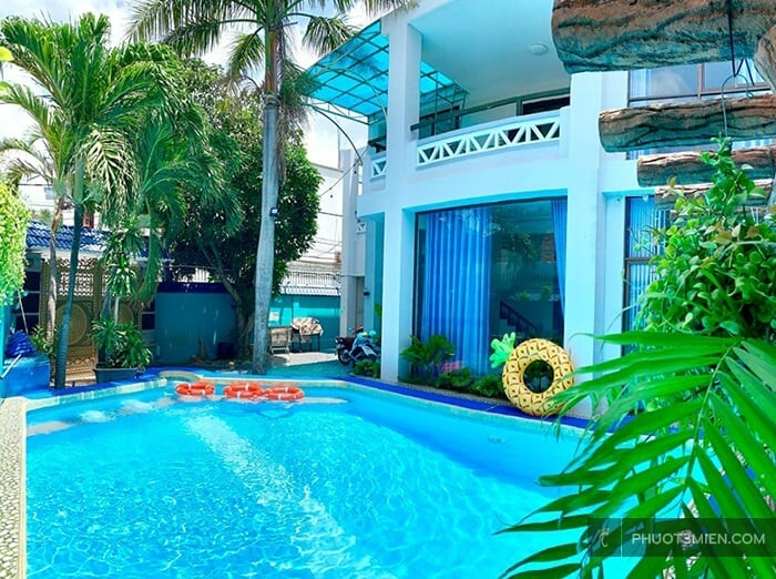 green mango villa có hồ bơi tại vũng tàu