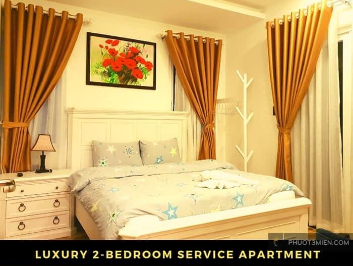Phòng ngủ tại Joy Villa đẹp ở Đà Lạt