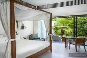 phòng ngủ tại resort