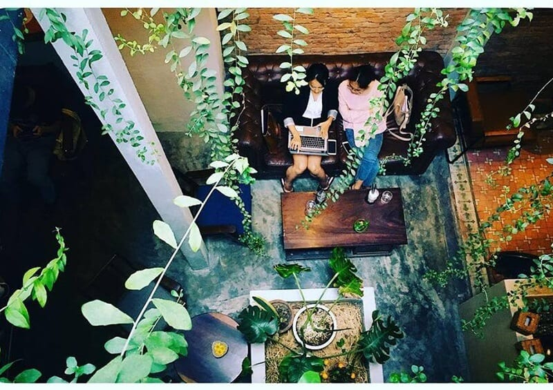 phong coffee - quán cafe đẹp ở Đà Nẵng