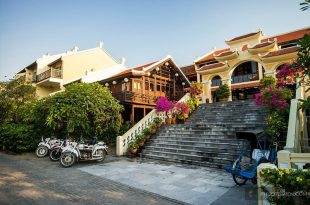 resort gần biển cửa đại hội an