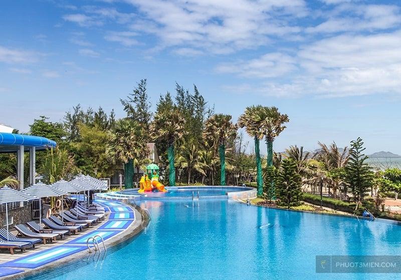Carmelina Beach Resort ở Hồ Tràm