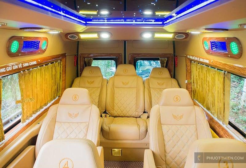 Thành đô Limousine đi đà lạt