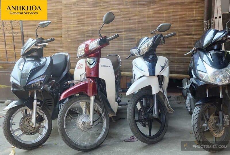 Anh Khoa cho thuê xe máy Hội An