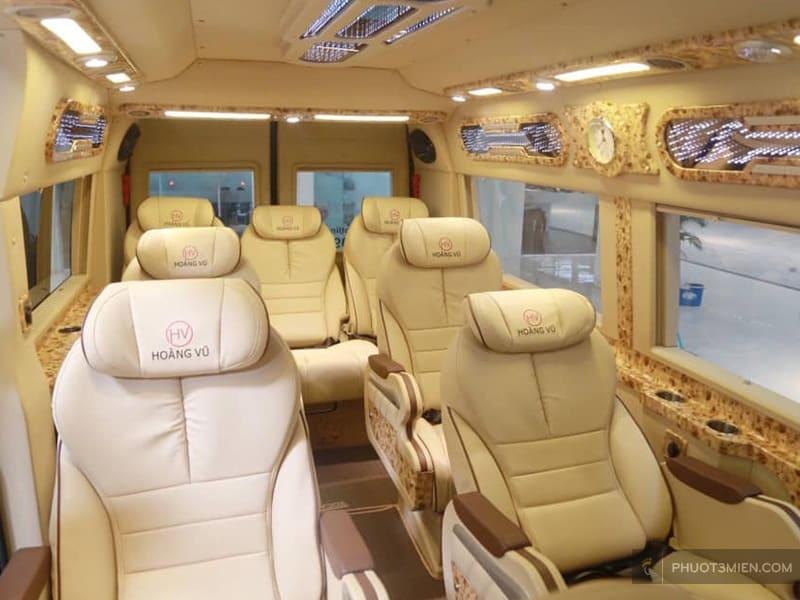 xe hoàng vũ limousine