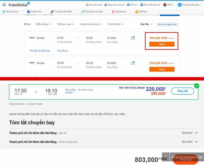 vé máy bay giá rẻ trên traveloka