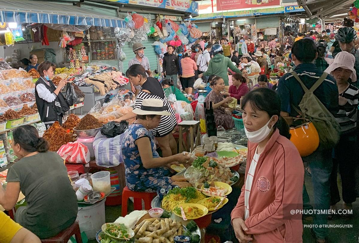 chợ cồn đà nẵng buổi chiều