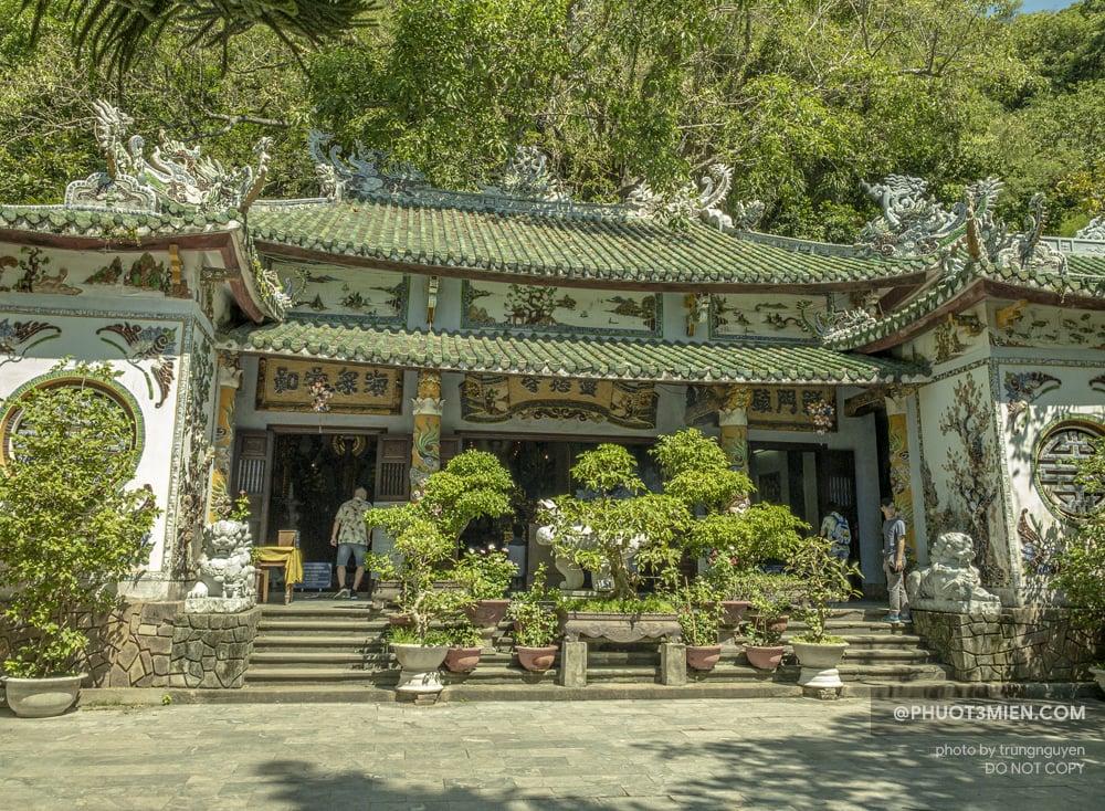 chùa linh ứng ở núi ngũ hành sơn